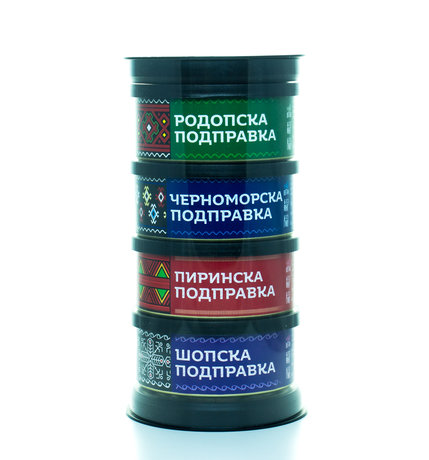 Gift set with 4 Bulgarian spice mixes