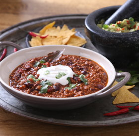 Chili Con Carne (Comforting, warm meat & beans stew)